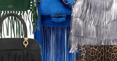 Чанти с ресни
